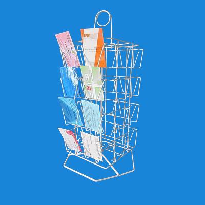 Торговая подставка-вертушка «Малютка вертикальная» под мини-полиграфию