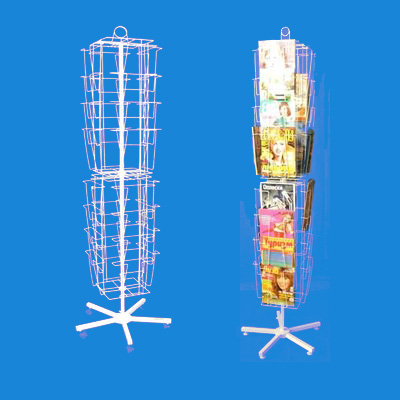 Торговая стойка-вертушка «Валерия» под полиграфию А4