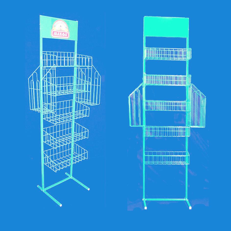 Торговая стойка «Макфа» для различных товаров народного потребления